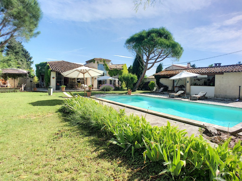 Sale house / villa Rochefort du gard 455 000€ - Picture 1
