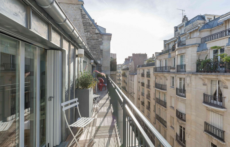Rental apartment Paris 16ème 3000€ CC - Picture 2