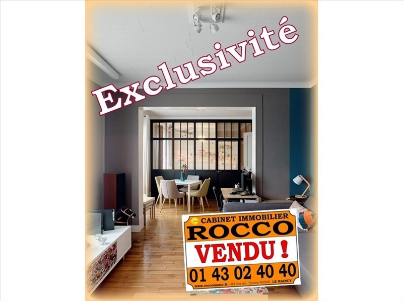 Sale apartment Le raincy 262 000€ - Picture 1