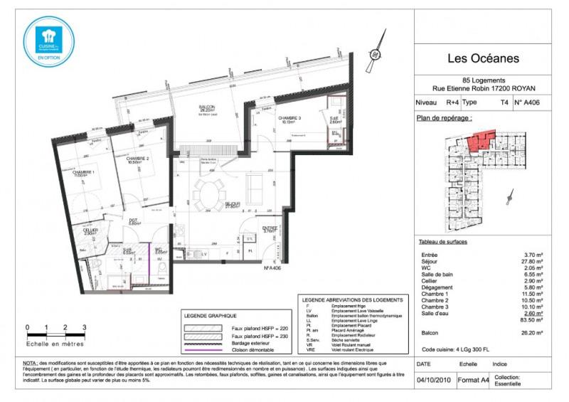 Sale apartment Royan 264000€ - Picture 4
