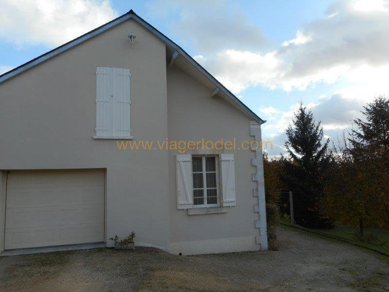 Vendita nell' vitalizio di vita casa Veaugues 93500€ - Fotografia 5