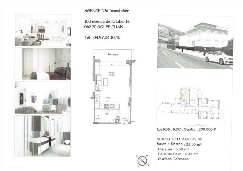 Investment property apartment Nice 195000€ - Picture 2