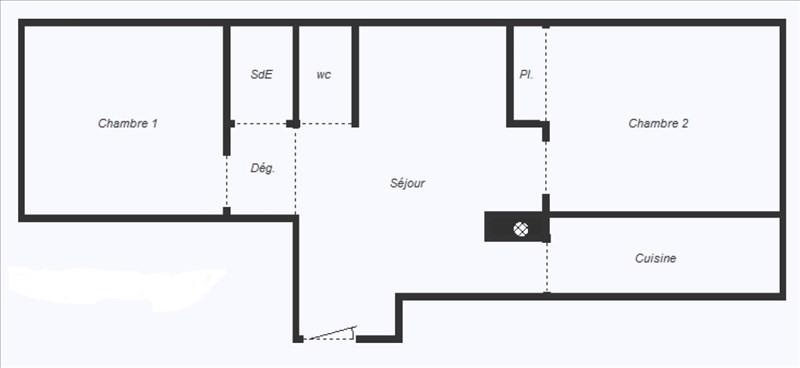 Vente appartement Chatillon 286000€ - Photo 3