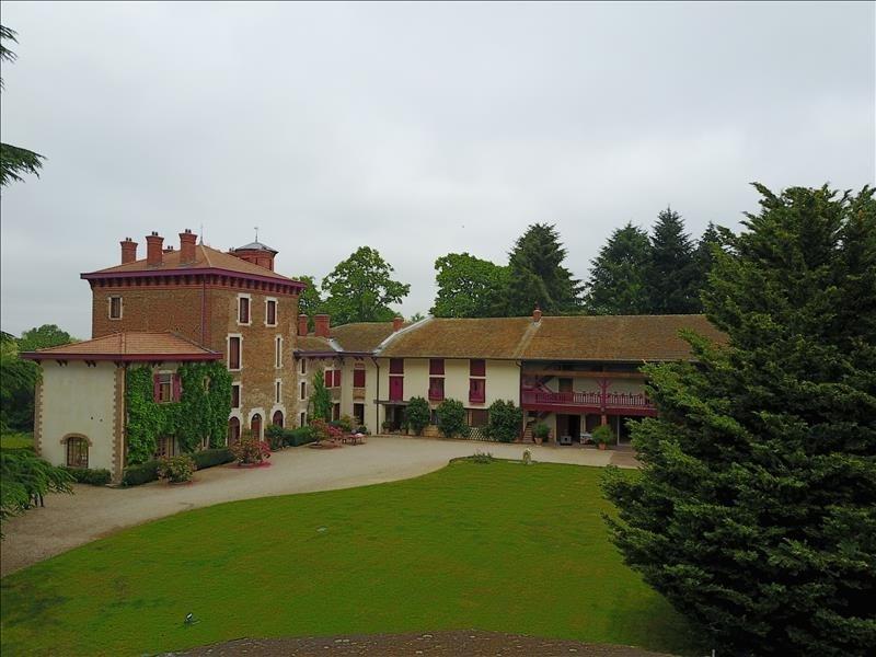 Immobile residenziali di prestigio casa Villars les dombes 1980000€ - Fotografia 2