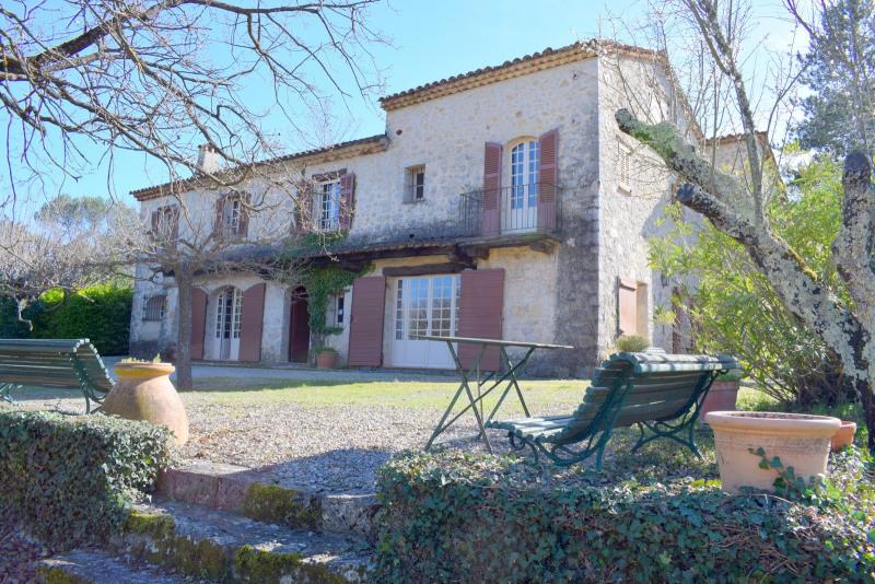 Deluxe sale house / villa Fayence 1260000€ - Picture 1