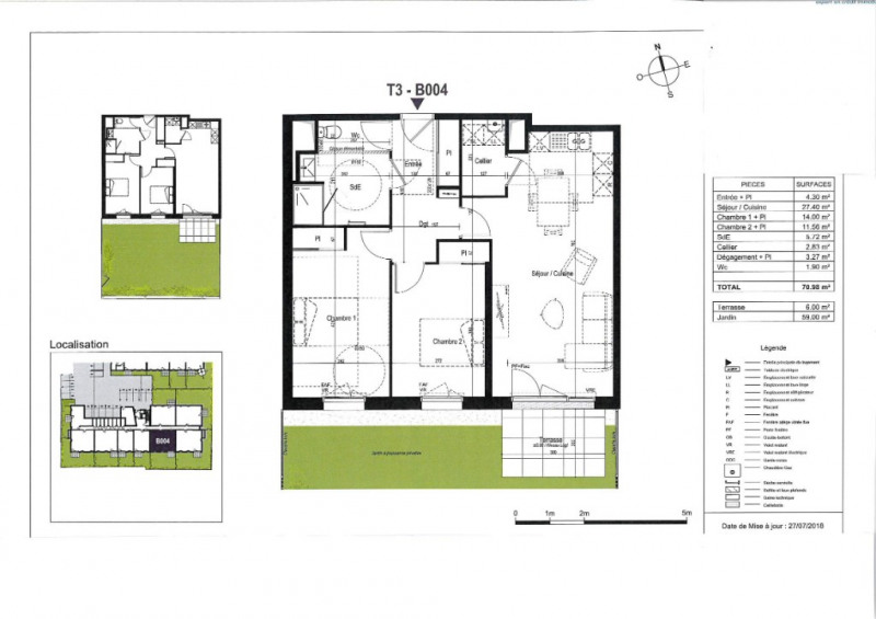 Venta  apartamento Olonne sur mer 245000€ - Fotografía 3