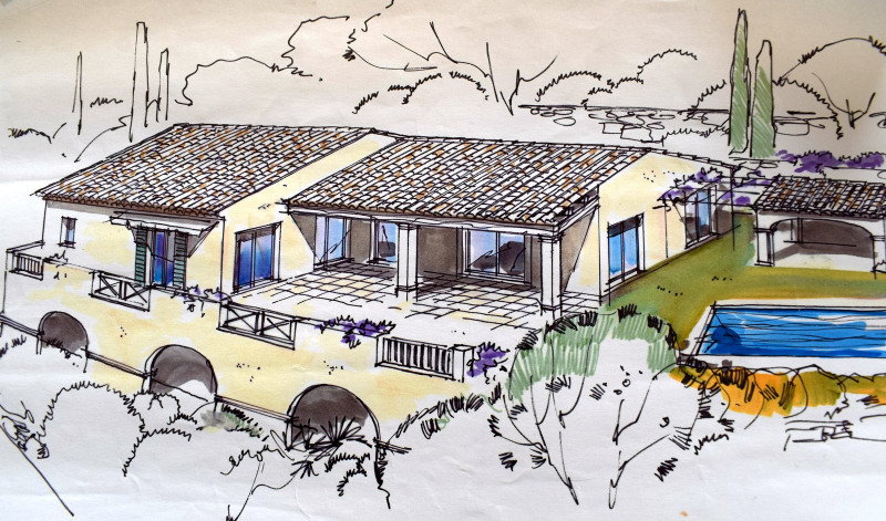 Immobile residenziali di prestigio casa Montauroux 698000€ - Fotografia 2