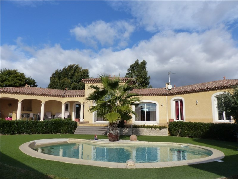 Sale house / villa Maraussan 549 000€ - Picture 1