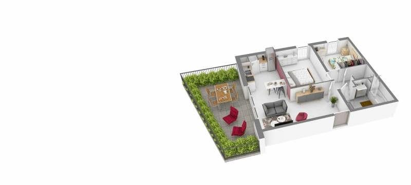 Sale apartment Venelles 247500€ - Picture 2
