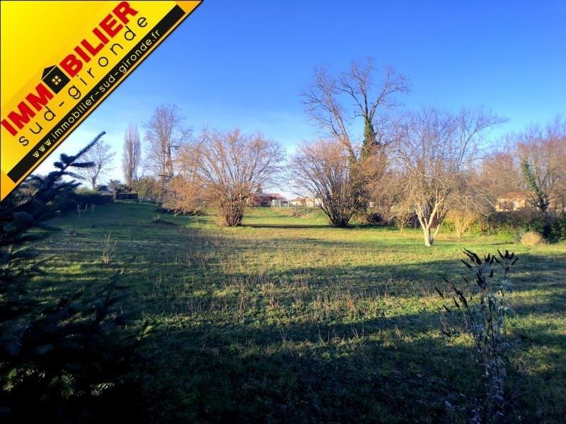 Vente terrain Virelade 108000€ - Photo 1