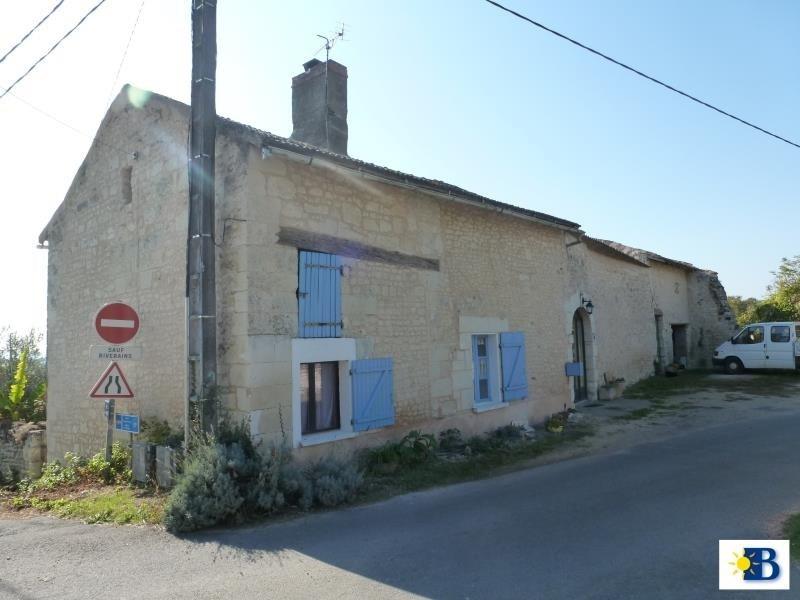 Vente maison / villa Scorbe clairvaux 112350€ - Photo 1