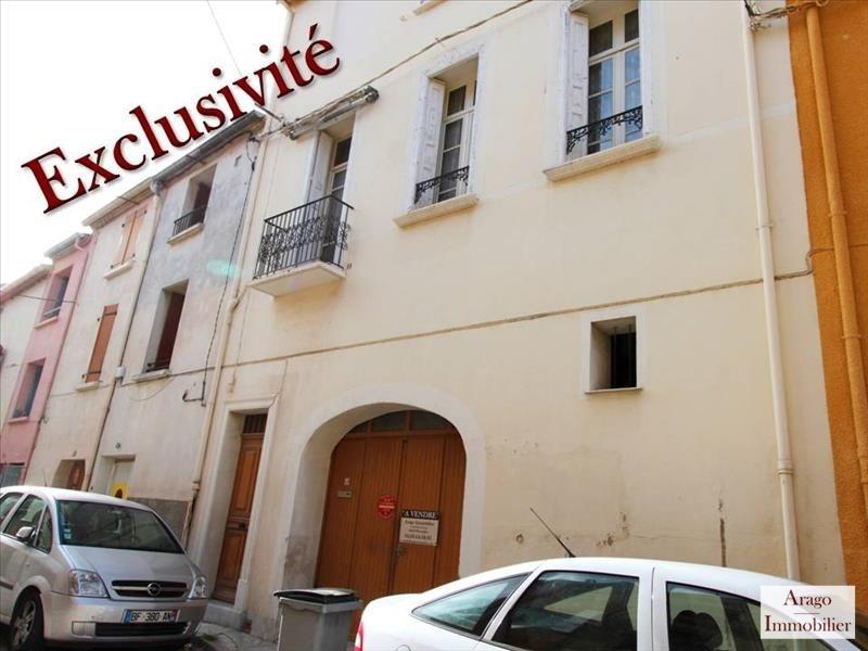 Vente maison / villa Rivesaltes 117400€ - Photo 1