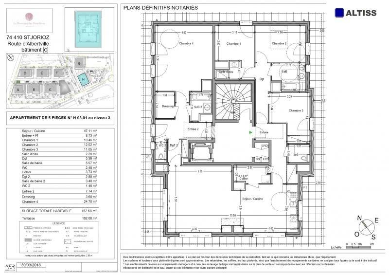 Deluxe sale apartment St jorioz 735000€ - Picture 2