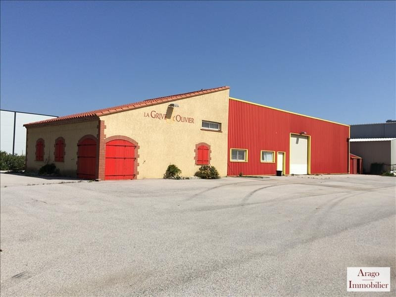 Location local commercial Rivesaltes 2500€ HT/HC - Photo 1