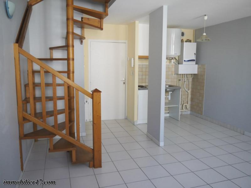 Verhuren  appartement Montpezat 300€ CC - Foto 2