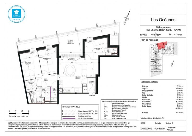 Sale apartment Royan 272000€ - Picture 4