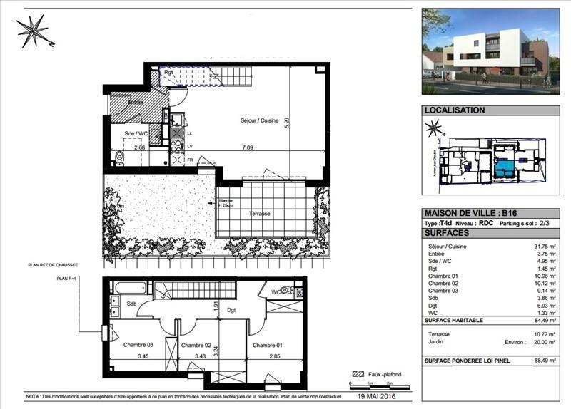 Vente maison / villa Toulouse 319000€ - Photo 10