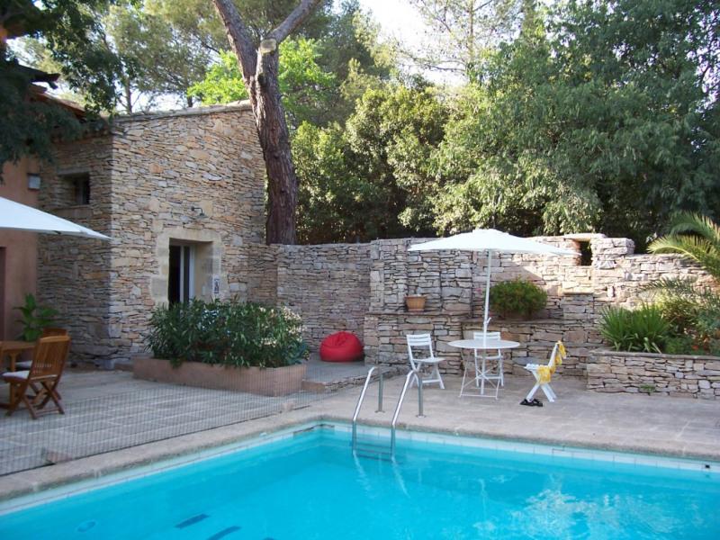 Deluxe sale house / villa Nimes 598000€ - Picture 1