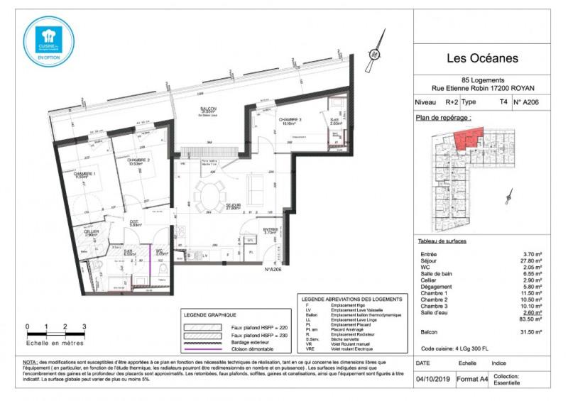 Sale apartment Royan 254000€ - Picture 4