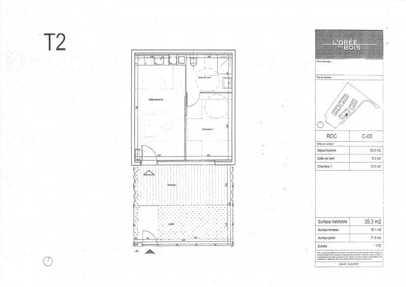Location appartement Cornebarrieu 570€ CC - Photo 1