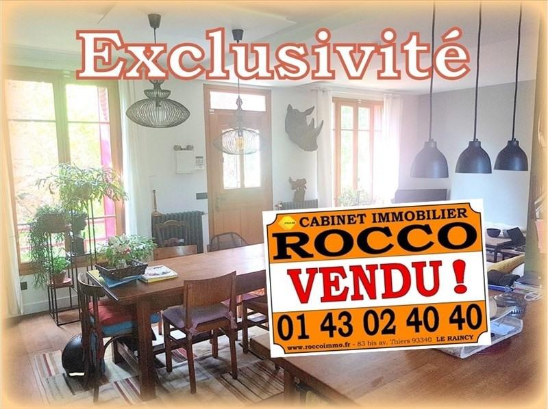Sale house / villa Les pavillons sous bois 333000€ - Picture 1