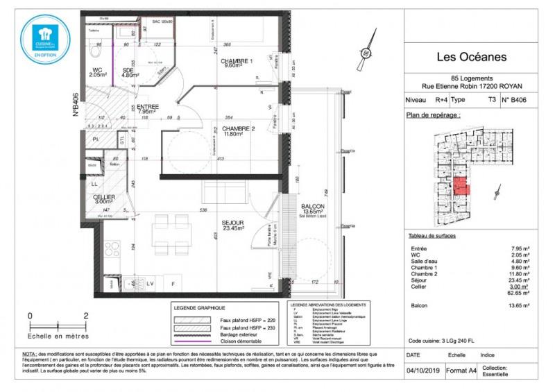 Sale apartment Royan 194800€ - Picture 4