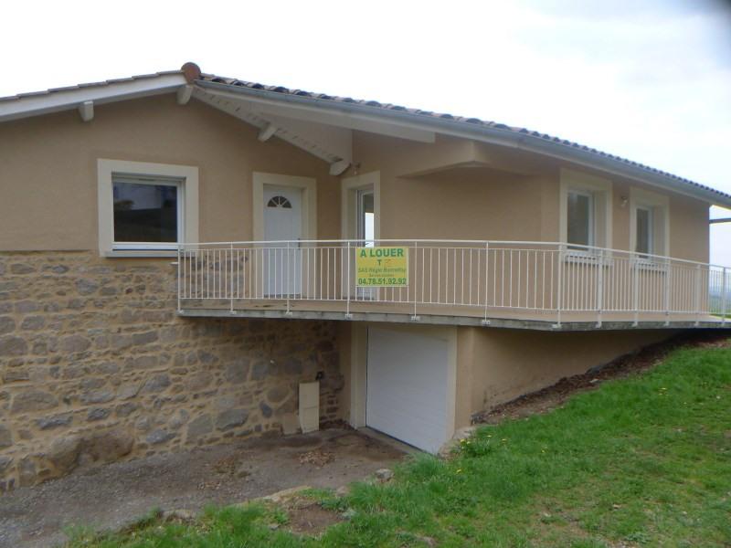 Location maison / villa Haute rivoire 730€ CC - Photo 1