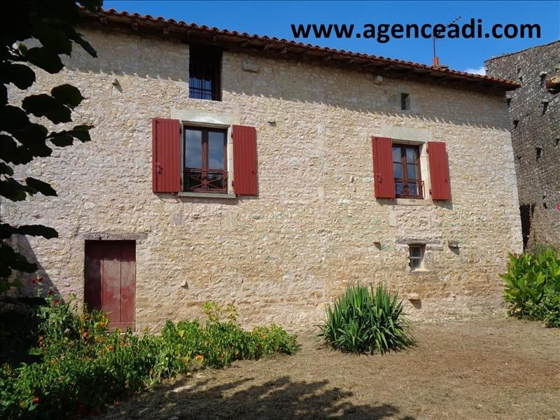Vente maison / villa Pamproux 54 000€ - Photo 1