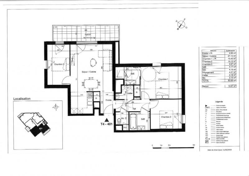 Vente appartement Tours 297000€ - Photo 5