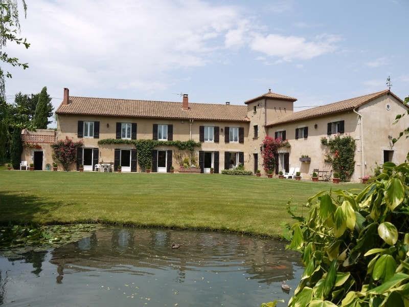 Deluxe sale house / villa Vienne 595000€ - Picture 1
