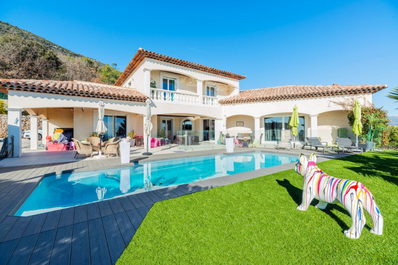 Immobile residenziali di prestigio casa Gattieres 1155000€ - Fotografia 1