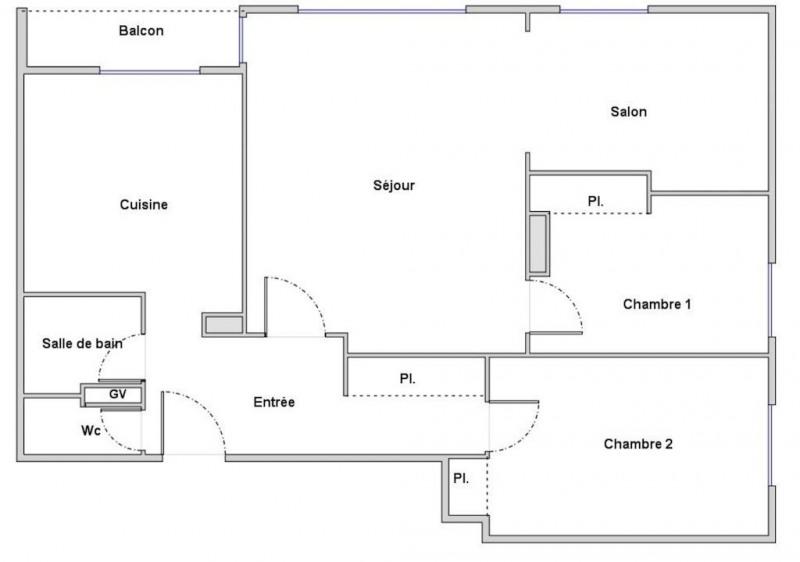 Vente appartement Sainte-foy-lès-lyon 185000€ - Photo 2