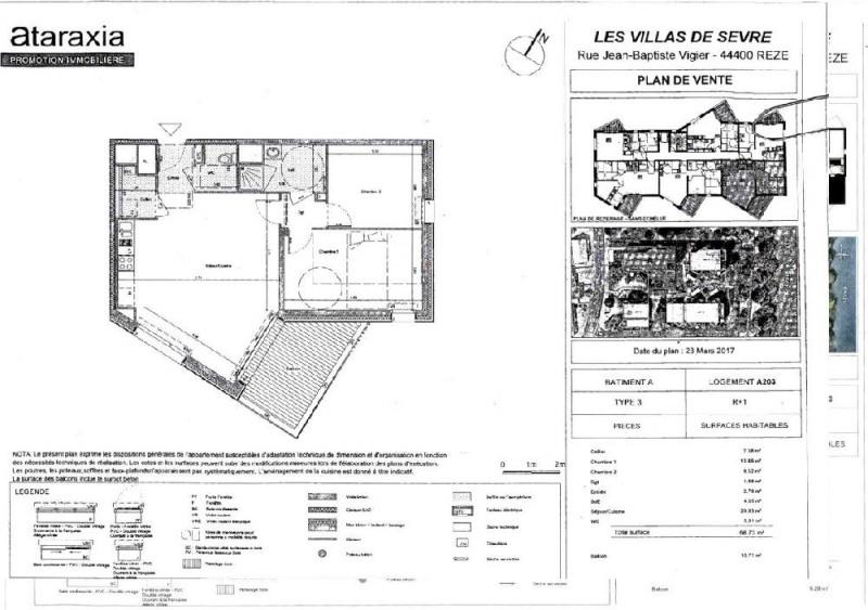 Rental apartment Reze 735€ CC - Picture 2