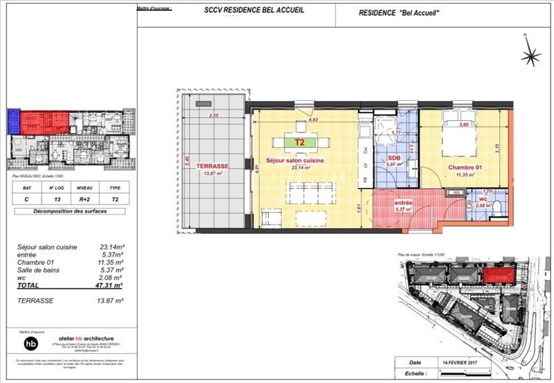 Vente appartement Bourgoin jallieu 129900€ - Photo 4