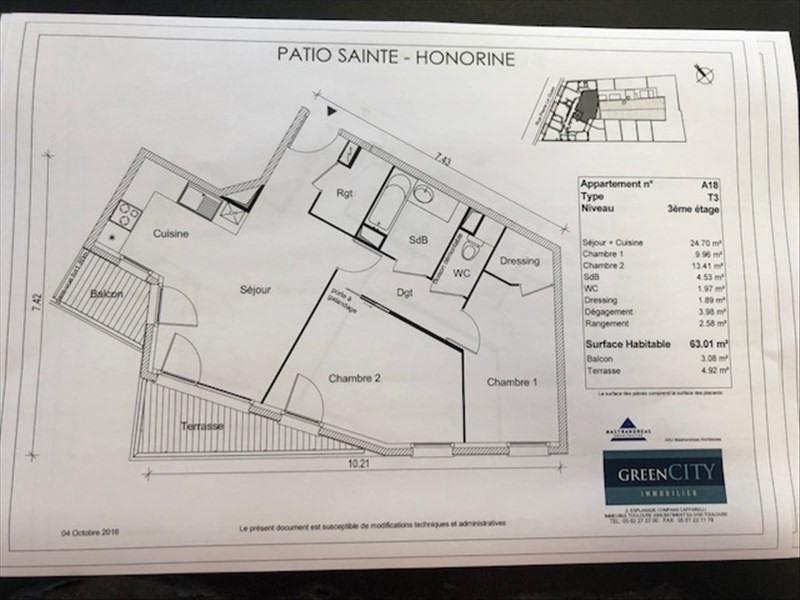 Rental apartment Conflans ste honorine 925€ CC - Picture 2