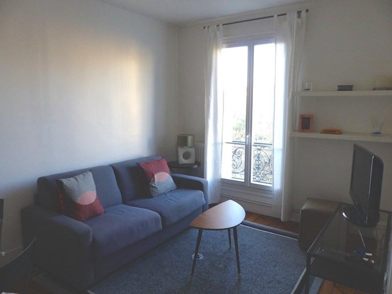 Rental apartment Levallois-perret 1250€ CC - Picture 1