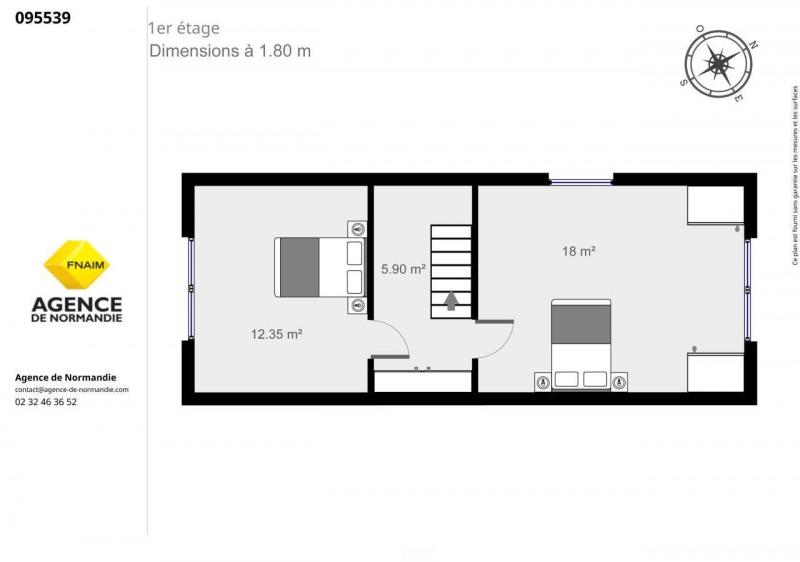 Vente maison / villa Montreuil-l'argille 95000€ - Photo 9