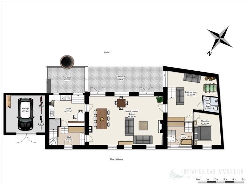 Sale house / villa Fericy 700000€ - Picture 5