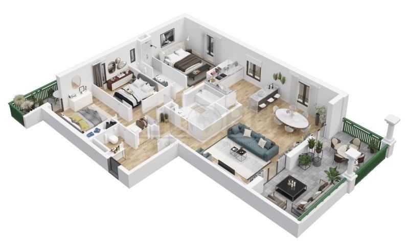 Deluxe sale apartment Biarritz 1060000€ - Picture 3