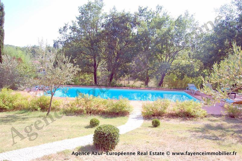 Deluxe sale house / villa Le canton de fayence 875000€ - Picture 3