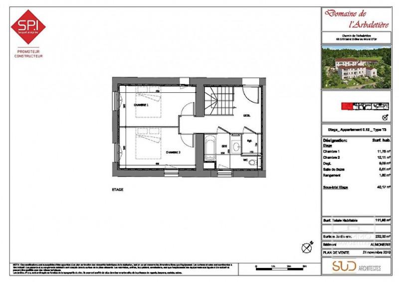 Investment property apartment Saint didier au mont d'or 535000€ - Picture 17