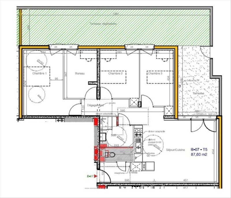 Vente appartement Soissons 196000€ - Photo 3