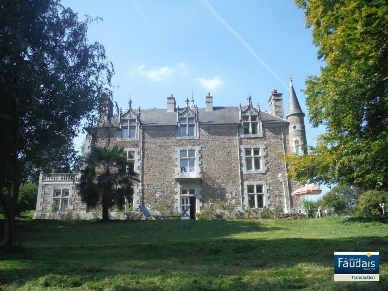 Vente de prestige château Cerences 620000€ - Photo 1