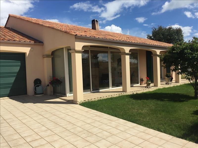 Sale house / villa St vincent sur jard 320000€ - Picture 1