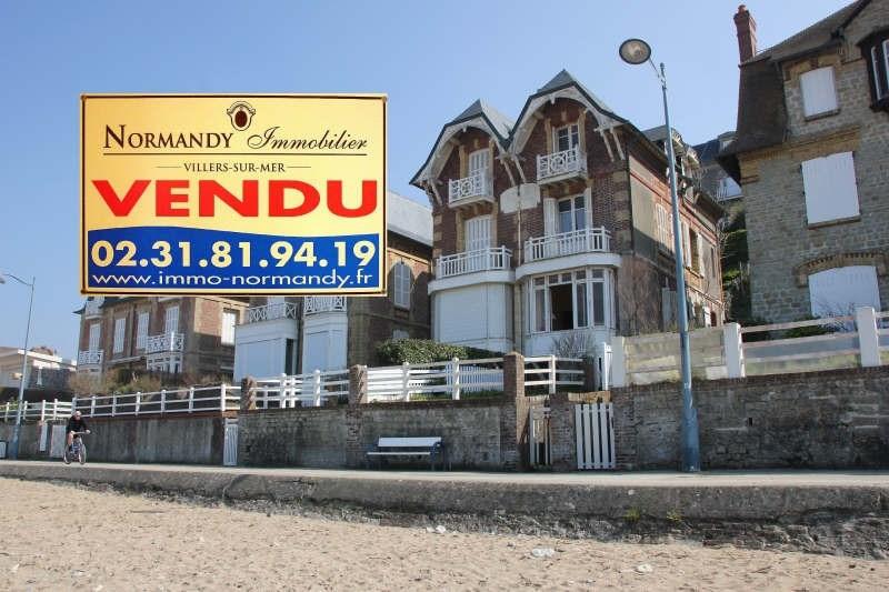 Vente de prestige maison / villa Villers sur mer 598000€ - Photo 1