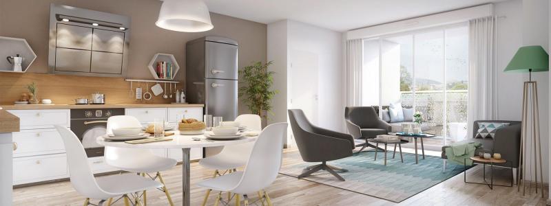 Vente appartement Bussy-saint-georges 296000€ - Photo 1