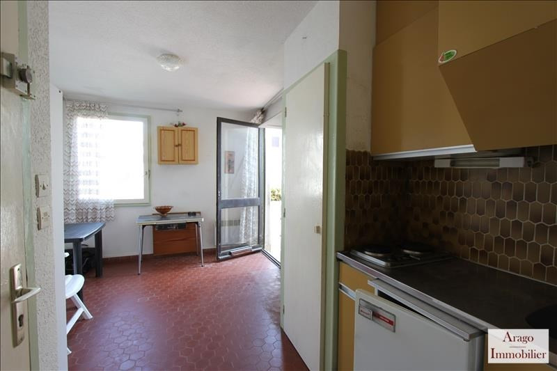 Sale apartment Le barcares 39 500€ - Picture 7