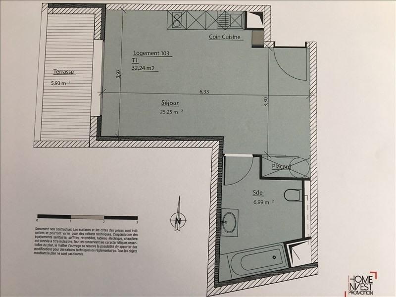 Venta de prestigio  apartamento Charbonnieres les bains 175900€ - Fotografía 5