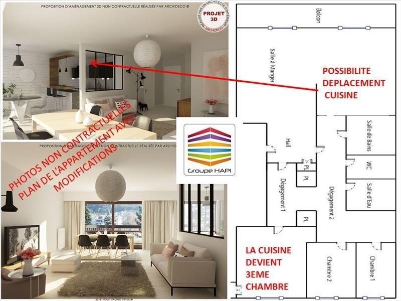Vente appartement Grenoble 239000€ - Photo 2