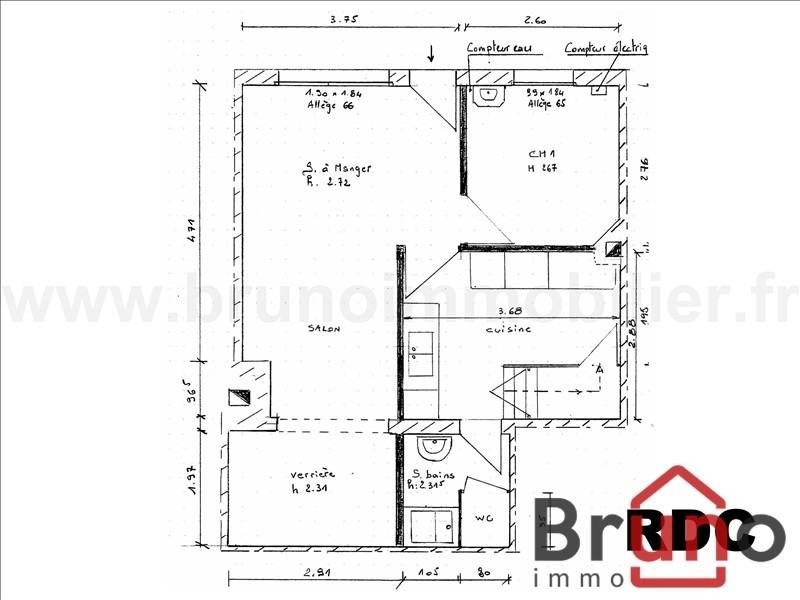 Verkoop  huis Le crotoy 164900€ - Foto 3